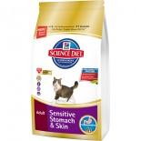 Hill's-成貓(腸胃皮膚敏感)專用配方貓糧-3.5磅