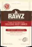 RAWZ 無穀物凍乾狗糧 牛肉配方 14oz x 2包優惠