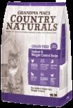 Country Naturals 無穀物老貓/體重控制去毛球室內貓配方(紫色)-04lb
