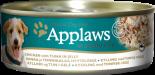 Applaws 狗罐頭 天然Jelly系列 156G 雞肉+吞拿魚