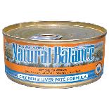 Natural Balance雪山雞肉肝貓罐頭 6oz