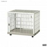 IRIS-660 日式塑膠狗籠 單層 65.8*50.7*56.1cm