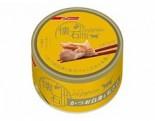 NISSHIN PET - 懷石極品水煮-鰹魚阿拉斯加三文魚貓罐頭 80g x 48原箱優惠