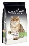 BlackHawk 優質全貓無穀物 雞肉配方 貓乾糧 3kg