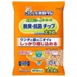 日本花王Kao 脫臭抗菌滲透式木貓砂 (大粒- 雙層貓砂盆專用) 2.5L x 6