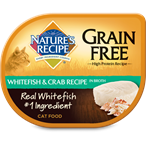 NATURE'S RECIPE 無穀物白身魚蟹肉湯貓罐頭 2.75oz