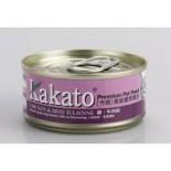 Kakato - 雞+牛肉絲 70G