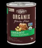 ORGANIX®成犬有機雞肉和有機馬鈴薯配方