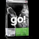 Go! Natural 無穀物鱒魚三文魚蔬果營養配方貓糧 04lbs