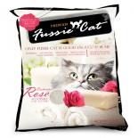 Fussie cat 礦物貓砂 玫瑰味(10L) X 10包