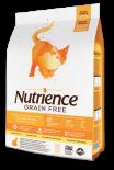Nutrience 天然無穀物火雞+雞+鯡魚全貓配方 - 5 kg
