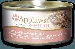 Applaws Jelly系列 老貓配方 吞拿魚+三文魚 貓罐頭 70g