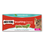 Milk Bone brushing chews 迷你犬潔齒棒