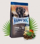 Happy Dog 成犬加拿大三文魚兔肉羊肉無穀物高能量配方狗糧 Canada 01kg