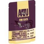 AATU 97/3/0 ATWCT85 全配方貓濕糧包 火雞+鵝 85g x 16包原箱優惠