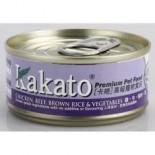 Kakato - 雞+牛+糙米+菜 170G