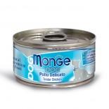 Monge 意大利狗罐頭 鮮味肉絲系列 純鮮雞肉 95G x 24