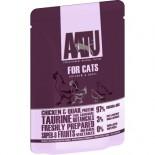 AATU 97/3/0 ATWCC85 全配方貓濕糧包 雞+鵪鶉 85g x 16包原箱優惠