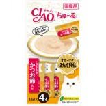 Ciao SC-102 雞肉+鰹魚醬 14g(4本)
