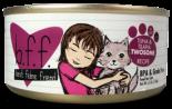 Weruva BFF 85g 罐裝系列 Tuna & Tilapia Twosome 吞拿魚+羅非魚  x 24罐優惠