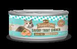 Merrick 無穀物貓罐頭 Savory Trout Dinner 鱄魚牛肉肉粒 5.5oz