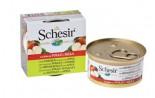 SchesiR 水果系列 雞肉蘋果飯貓罐頭 75g