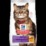 Hill's -8884 成貓胃部及皮膚敏感專用配方貓糧 7lb