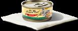 Fussie Cat 金鑽貓罐頭 80G 雞肉加蔬菜 x 24罐原箱優惠