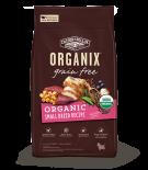 Organix 有機無穀物成犬糧 小型成犬配方 10lb