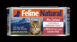 F9 FELINE NATURAL 雞肉及鹿肉 主食貓罐頭 85G X 24罐優惠