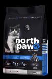 North Paw 無穀物雞肉+魚 體重控制、高齡貓配方 貓糧 2.25kg (黑藍) [NPCAT2]