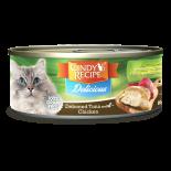 Cindy's Recipe [CR-D055] Delicious 紅肉系列 - 吞拿魚+雞 70g x 24罐原箱優惠