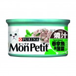MonPetit 喜躍 至尊系列 吞拿魚+菠菜 85g x 24罐優惠