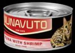 Nunavuto NU-05 貓罐頭 吞拿魚伴蝦肉 80g