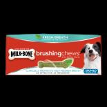 Milk Bone brushing chews 小型/中型犬潔齒棒