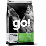 Go! Natural 無穀物鱒魚三文魚蔬果營養配方貓糧 16lbs