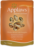 Applaws Chicken Breast with Pumpkin in Broth Pouch 雞+南瓜 70g