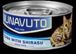 Nunavuto NU-06 貓罐頭 吞拿魚伴白飯魚 80g