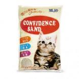 Confidence 高溫消毒礦物砂5L (白幼砂) x 4