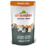 almo nature 貓乾糧 - Orange Label 橙色標籤 Sardine 沙甸魚 750g