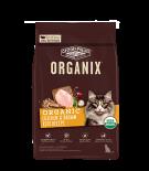 ORGANIX® 穀物全貓糧 – 有機雞肉糙米配方 10lb (NEW)