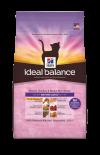 Hill's全新天然配方ideal balance-高齡貓天然配方(雞肉及糙米餐)-15磅