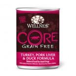 Wellness CORE 火雞、豬肝拼鴨肉﹙無穀物﹚ 12.5oz