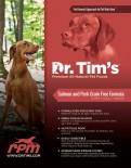 Dr.Tim's 全天然無穀物成犬糧 三文魚+豬肉 05磅