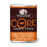 Wellness CORE 火雞、雞肝及火雞肝﹙無穀物﹚ 12.5oz