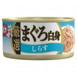 日本三才貓罐頭-Jelly果凍系列 80G MI-03 吞拿魚+白飯魚