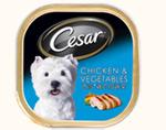 西莎 Cesar 純鮮肉系列 雞肉+蔬菜