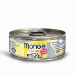 Monge Super Premium 系列 貓罐頭 80g - 雞肉