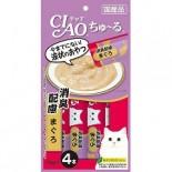 Ciao SC-109 吞拿魚醬(消便臭) 14g(4本) x 2包優惠