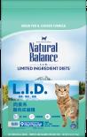 Natural Balance 雪山 - 肉食系 - 雞肉成貓糧 10lb